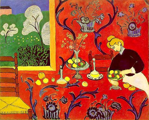 Matisse Paint Window Room